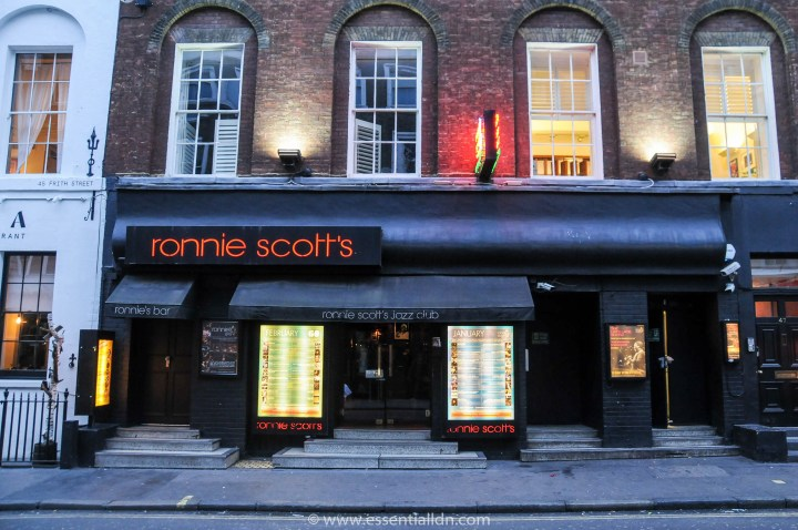 Ronnie Scotts' Soho