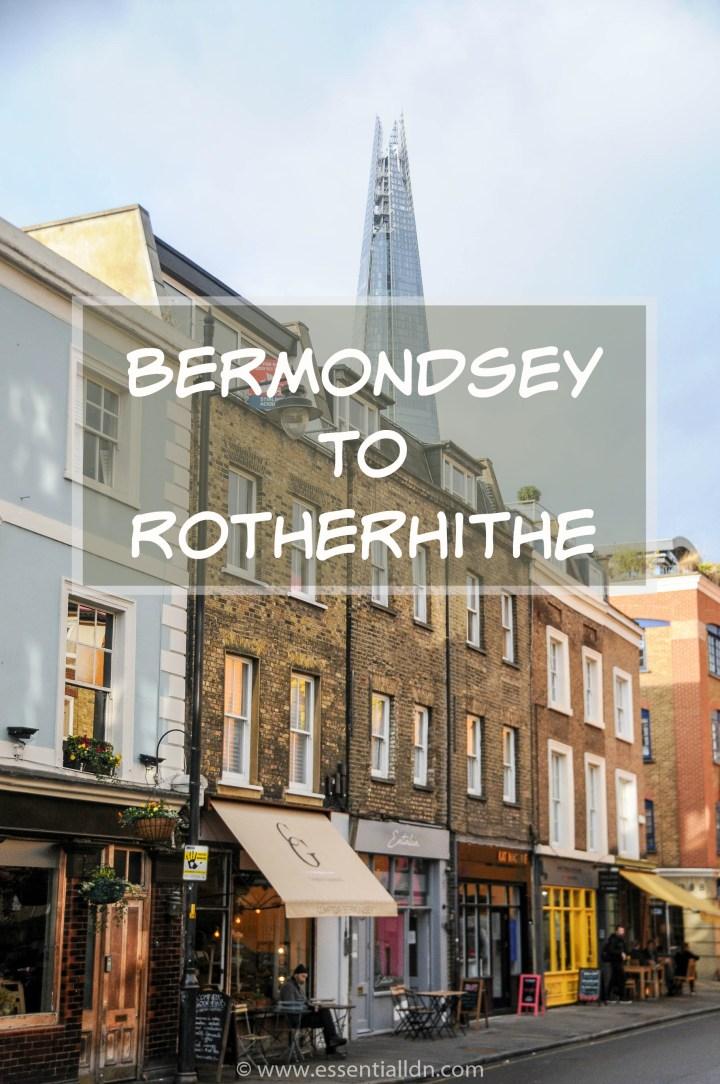 Bermondsey to Rotherhithe