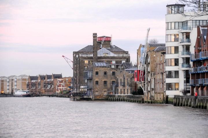 The Mayflower pub river terrace