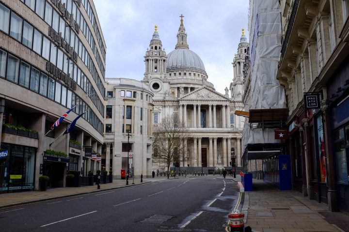 Ludgate Hill and St Paul's Cathedral