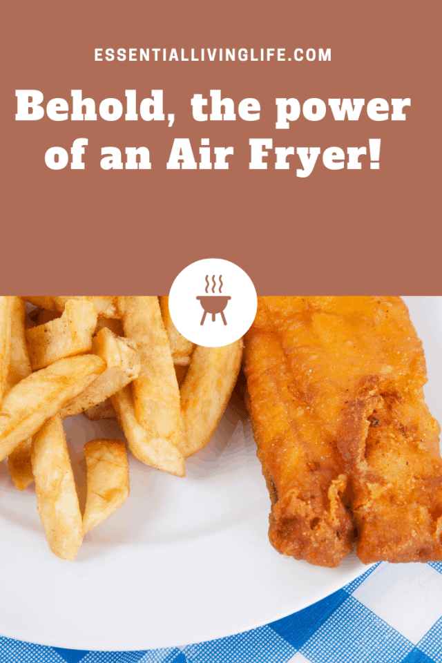 behold, the power of an air fryer