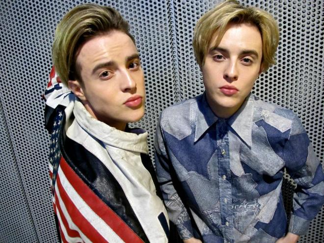 John and Edward to model