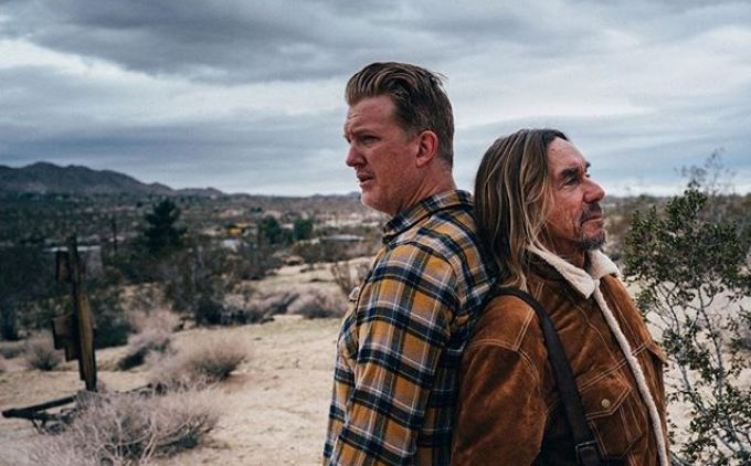 Sons of the Desert - Josh Homme and Iggy Pop