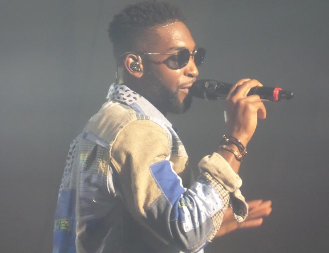 Tinie Tempah - Photo credit Steve Holley