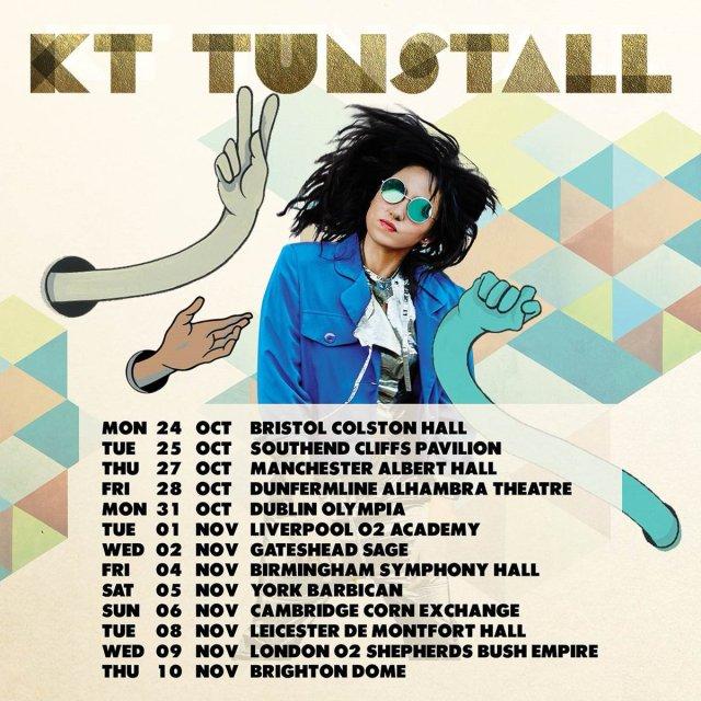 KT Tunstall Dates