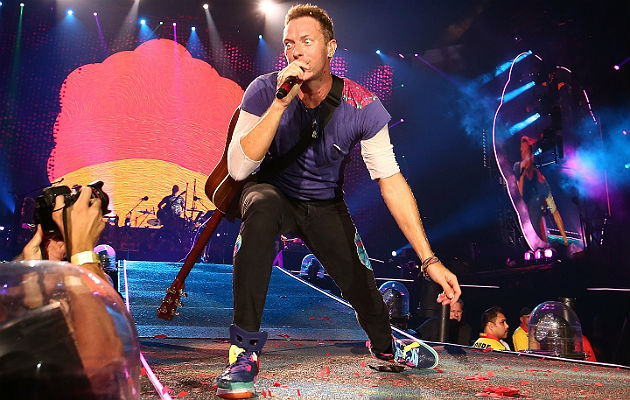 Coldplay - photo credit Getty images via NME