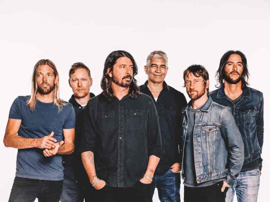 Foo Fighters - photo credit Brantley Gutierrez