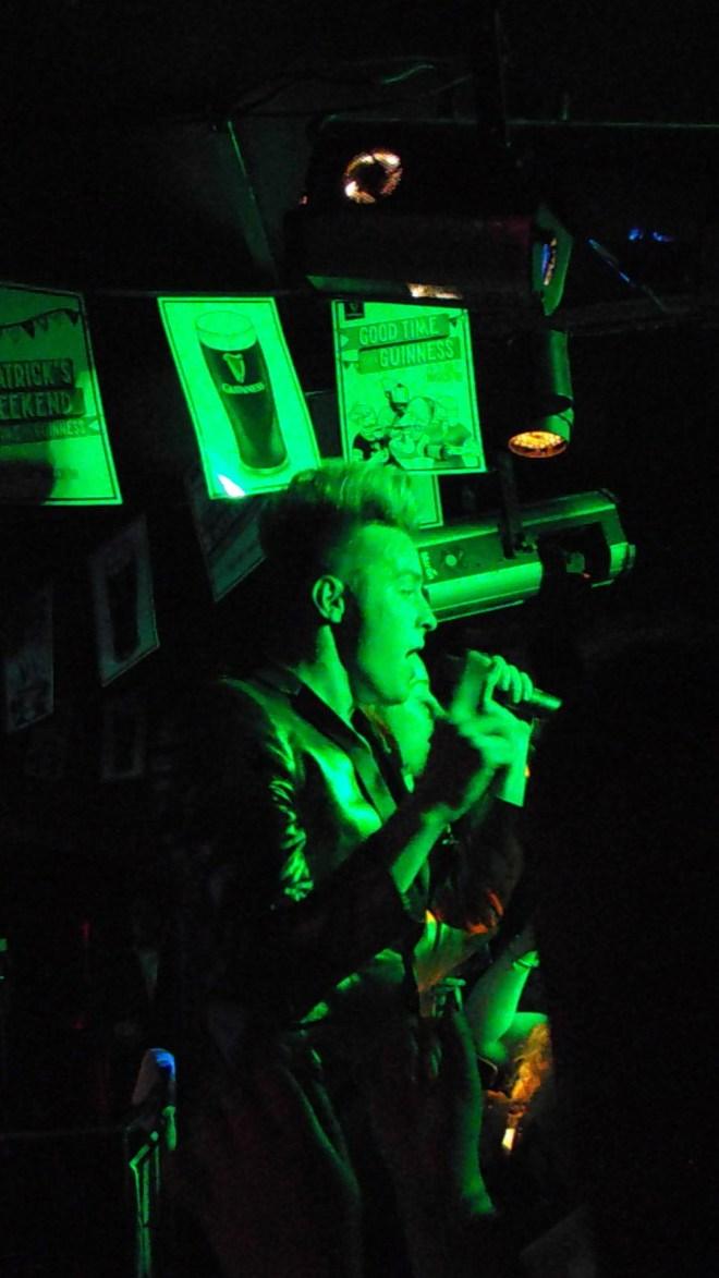 Jedward at Espionage Night Club, Edinburgh, 17 March 2018. Photo Credit: Lisa Hafey