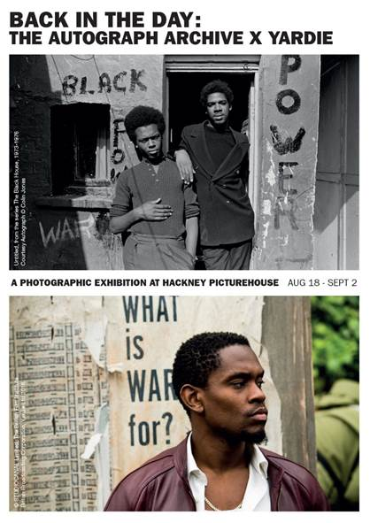 'YARDIE' - PHOTOGRAPHIC EXHIBITION OPENING IN HACKNEY