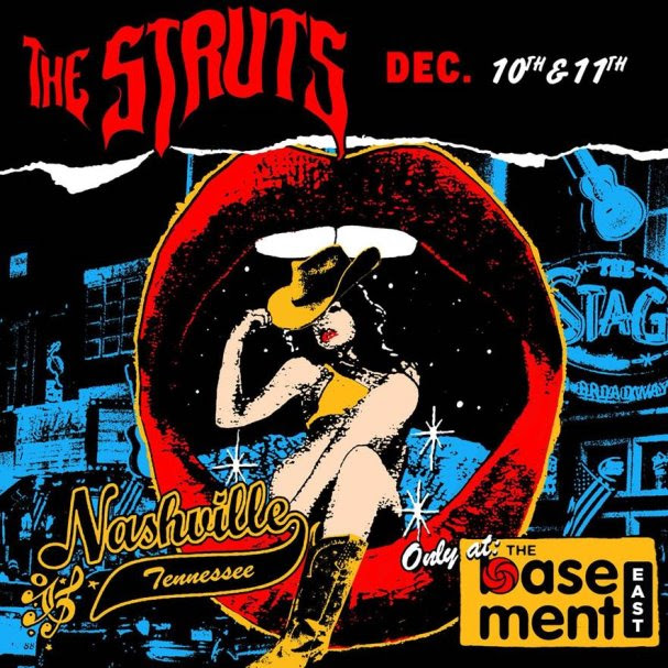 The Struts Announce Nashville Residency At Basement East