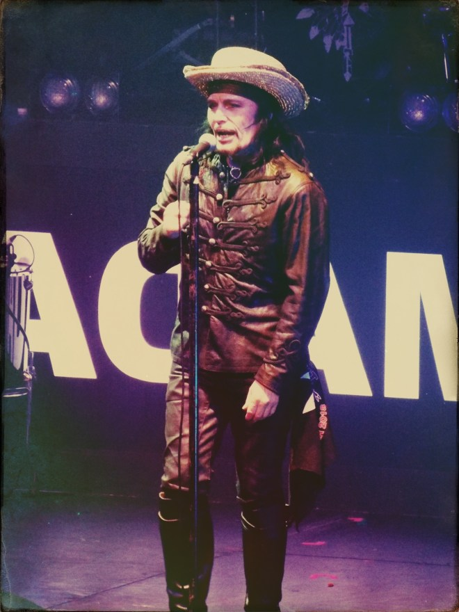 Adam Ant, The Roundhouse, London. Photo credit: Lisa Hafey