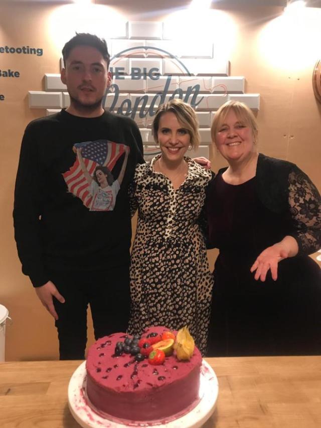 Dan, Claire Richards, and EP head honcho, Lisa