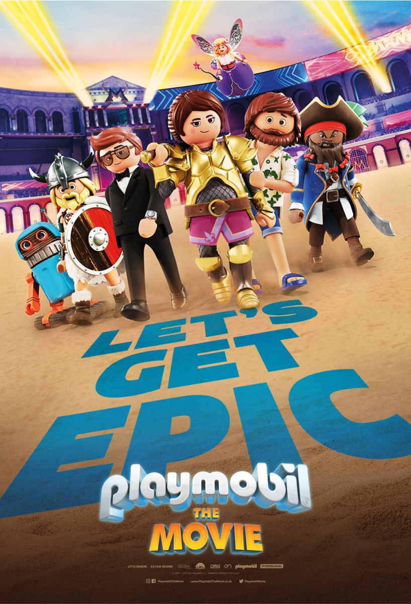 STUDIOCANAL And ON Animation Studios Release Main Trailer And Poster For 'PLAYMOBIL: THE MOVIE'
