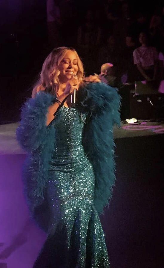 Mariah Carey, Royal Albert Hall, London, 26 May 2019 - photo credit Daniel John