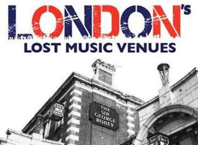 Cover art for London's Lost Music Venues by Paul Talling