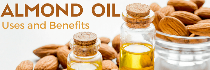 Can you use almond oil for dark circles and how to use almond oil for skin and hair growth.