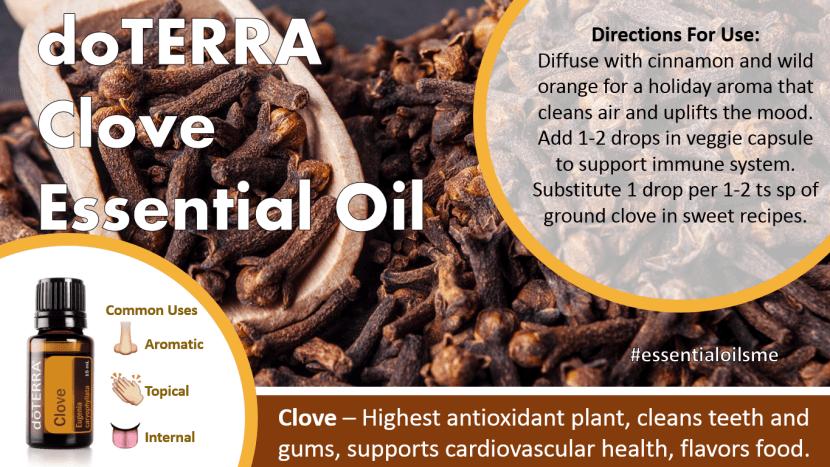 doterra clove essential oil