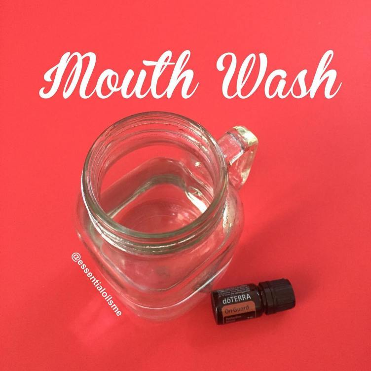 natural mouth wash recipe