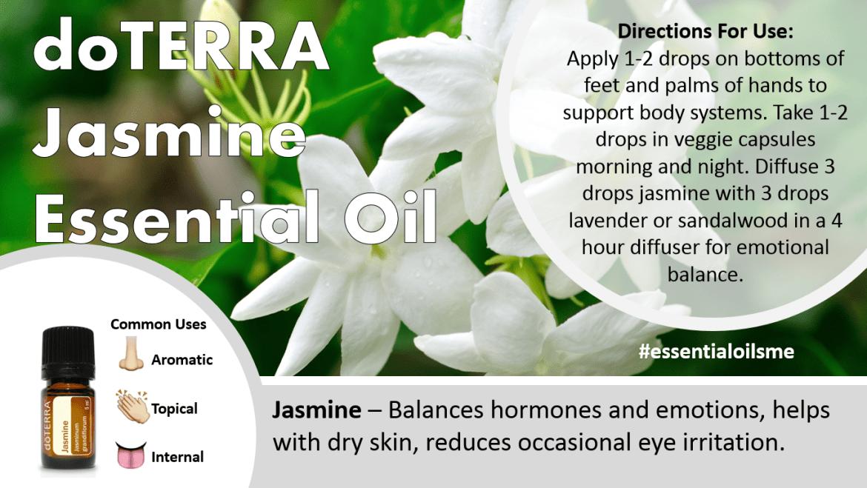 doterra jasmine essential oil