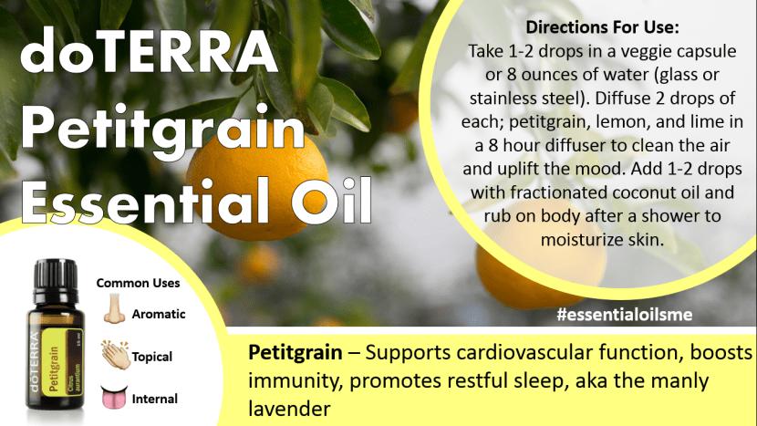 doterra petitgrain essential oil