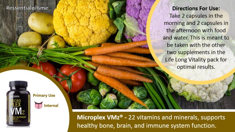 doterra lifelong vitality pack with microplex vmz