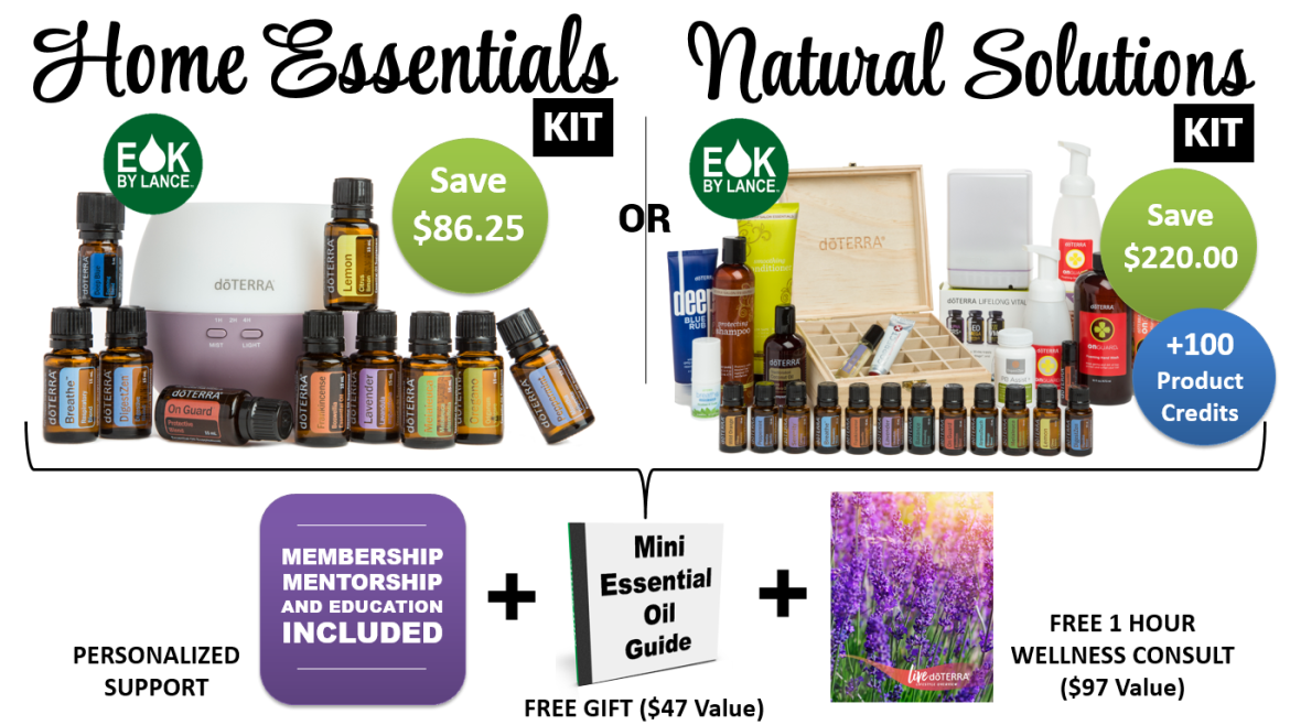 Essential Oil Kits By Lance HE & NS Options v2