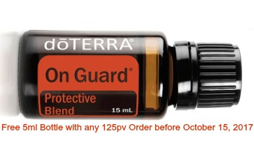 dōterra product of the month October 2017