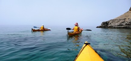 Kayaking in Sfakia