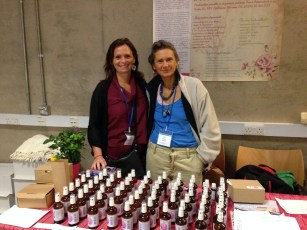 Jana Eitner from Ljubljana with her fantastic hydrolats, essetial oils, blends and ever-open, curious mind, energetic body and transcendent soul