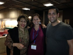 A very warm family welcome from Farida Irani and his son Nick from Subtle Energies - Ayurveda Aromatherapy