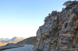 Rocky Cretan serpentines provide a scenic road on way back