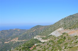 From the high Cretan mountains to the sea near Sises