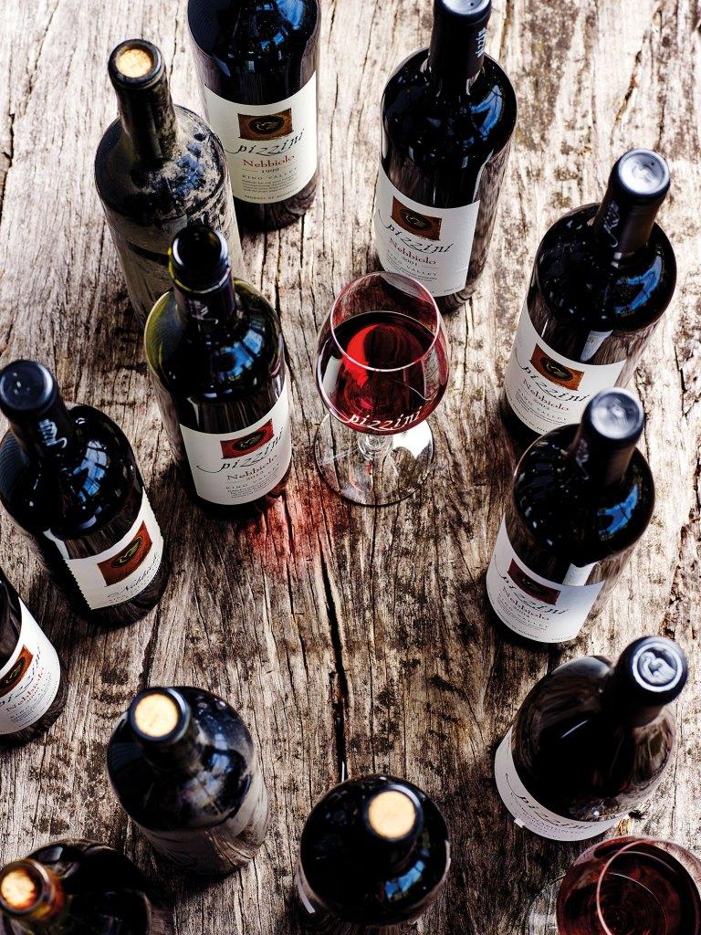 Pizzini Wines Nebbiolo vintages