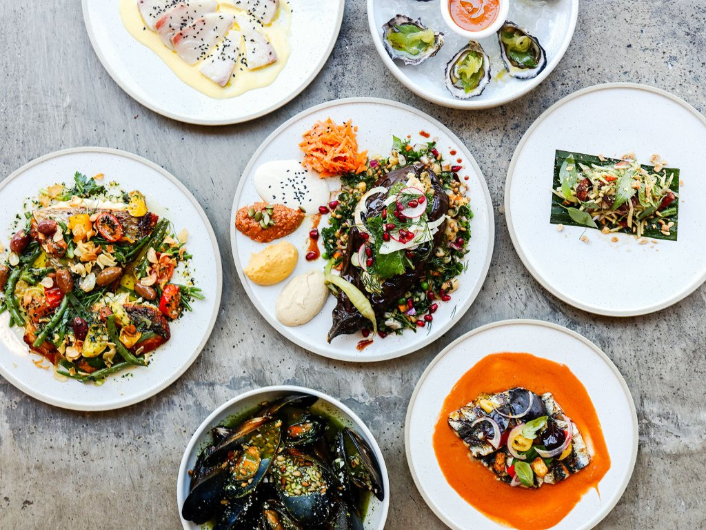 Morgan's new summer menu 2019 by Paul Wilson