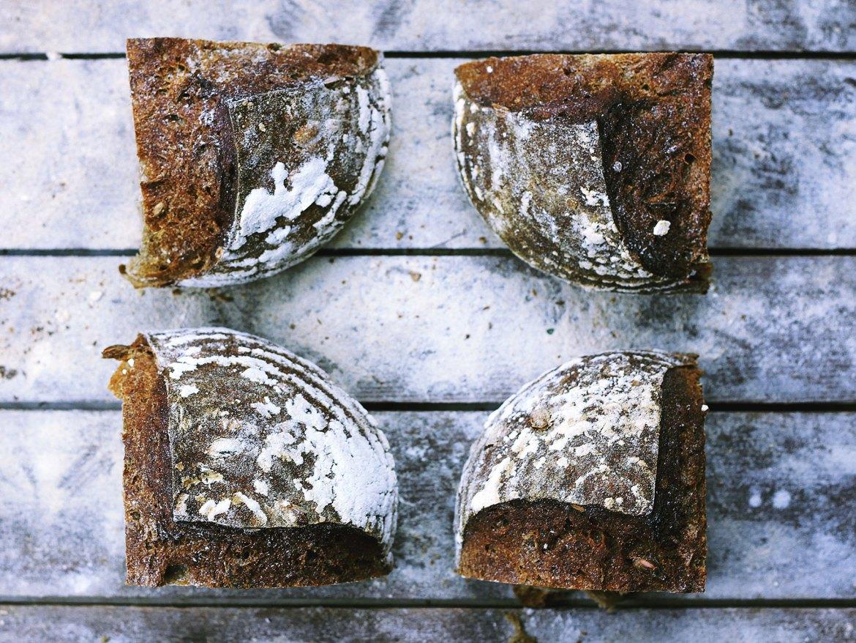 Russian Borodinsky Bread