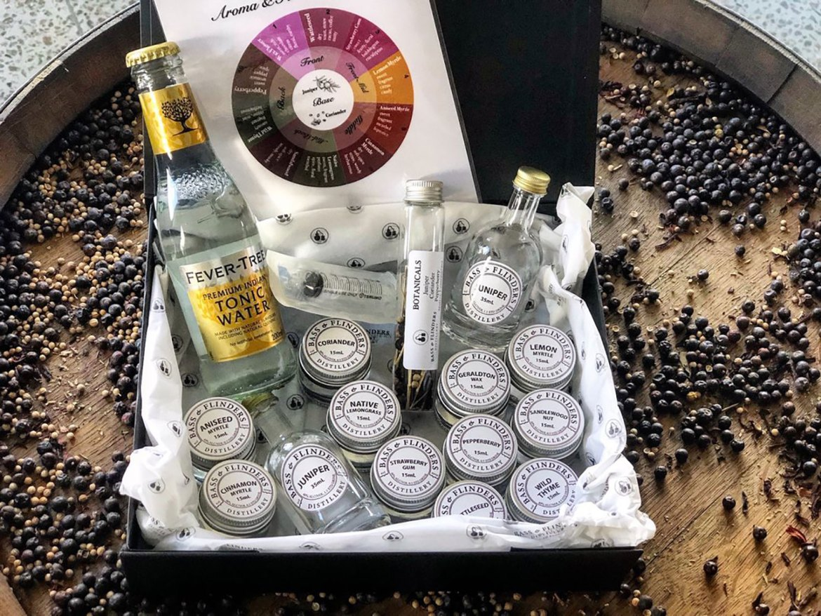 Bass & Flinders' at-home gin masterclass kit