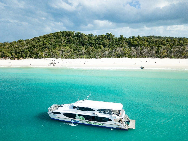 Cruise Whitsunday's Whitehaven Vessel