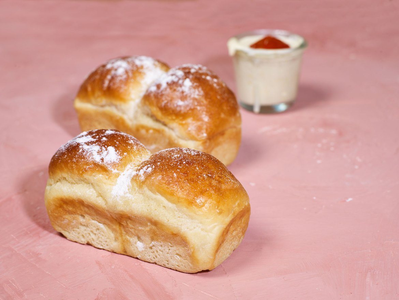 Brioche Bread Loaves