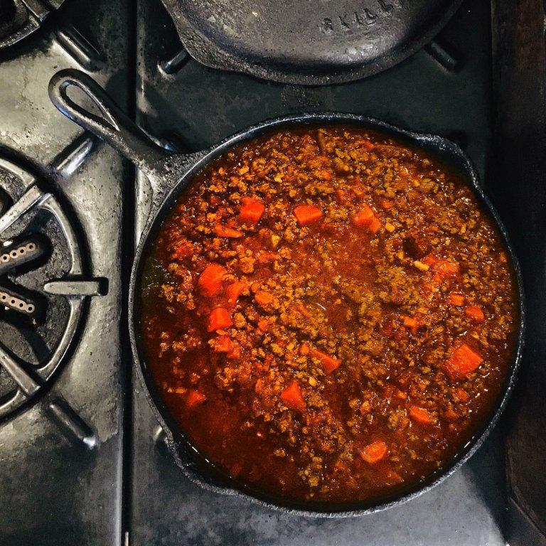 Pellegrini's Espresso Bar style bolognese sauce recipe