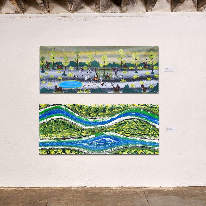 Adrian King, Mosquito Place, 2005 and Adrian King Wild Rivers Rainy Season, 2010