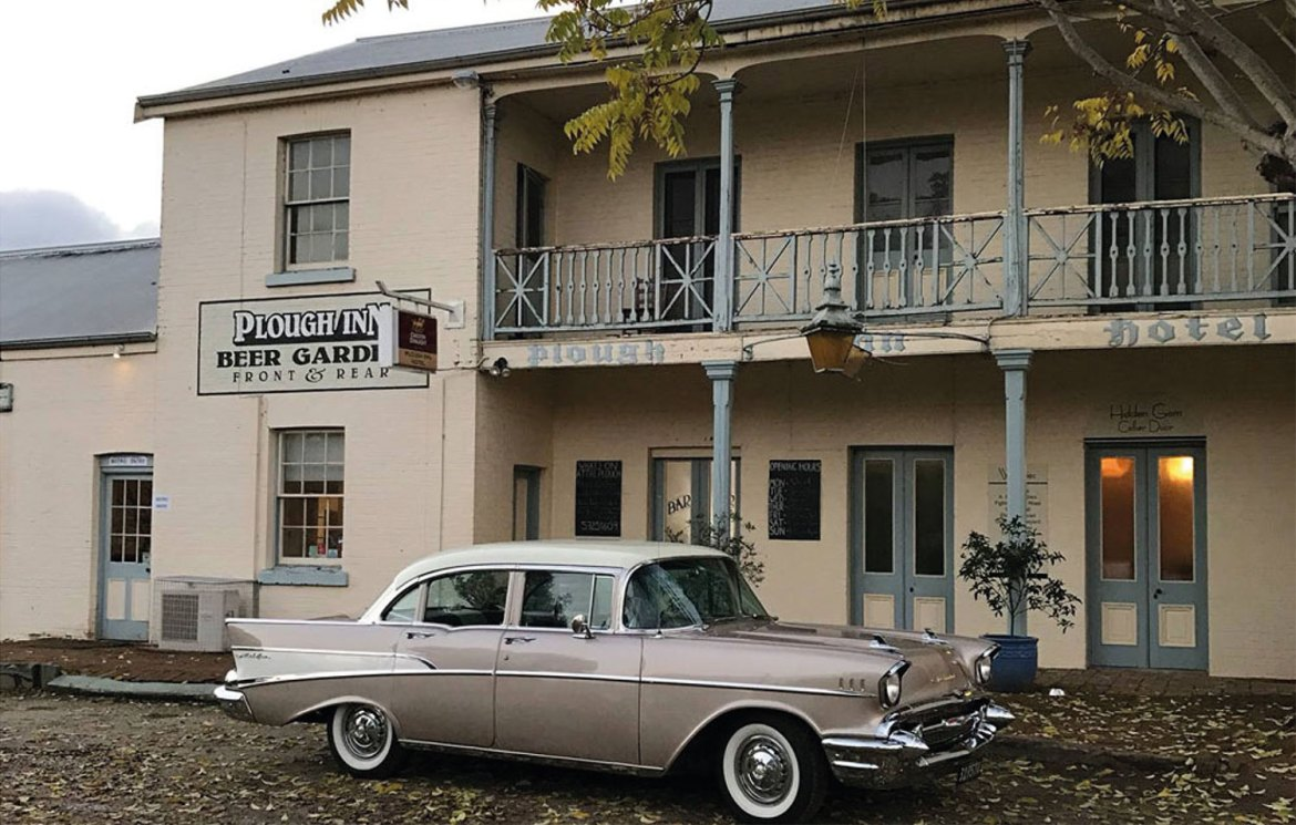 The Plough Inn, Tarrawingee, Victoria - just off the Great Alpine Road