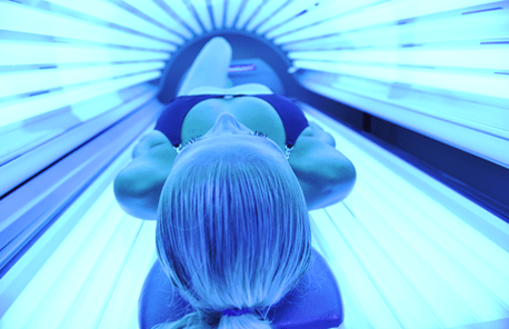 Sun Bed Tanning At Essentials Salon Tarleton