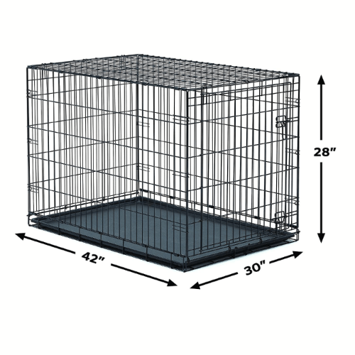 dimensions of dog training crate