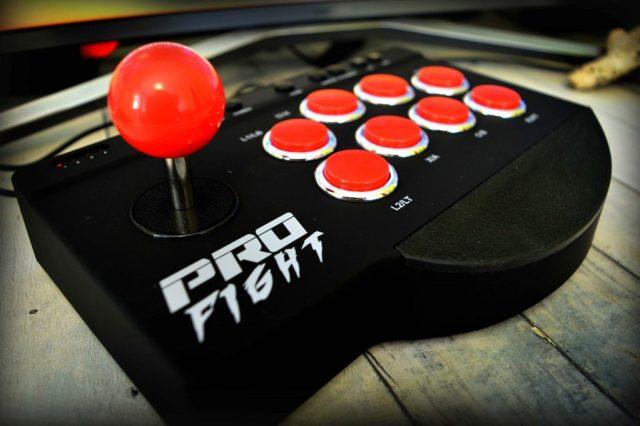 photo du stick arcade profight de la marque subsonic avis et test complet