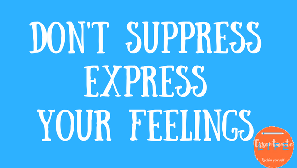 not good at expressing feelings