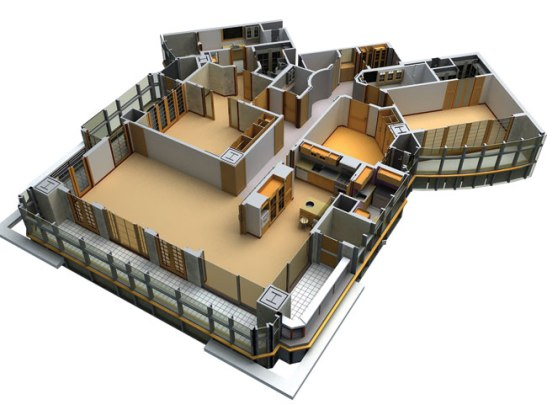 3D model in ArchiCad, image source
