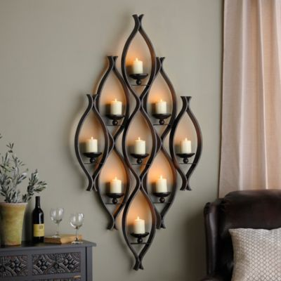 Helpful Tips on Hanging a Wall Candle Holder on Wall Mounted Candle Holder id=30313
