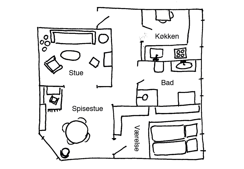 scandinavian apartment 13