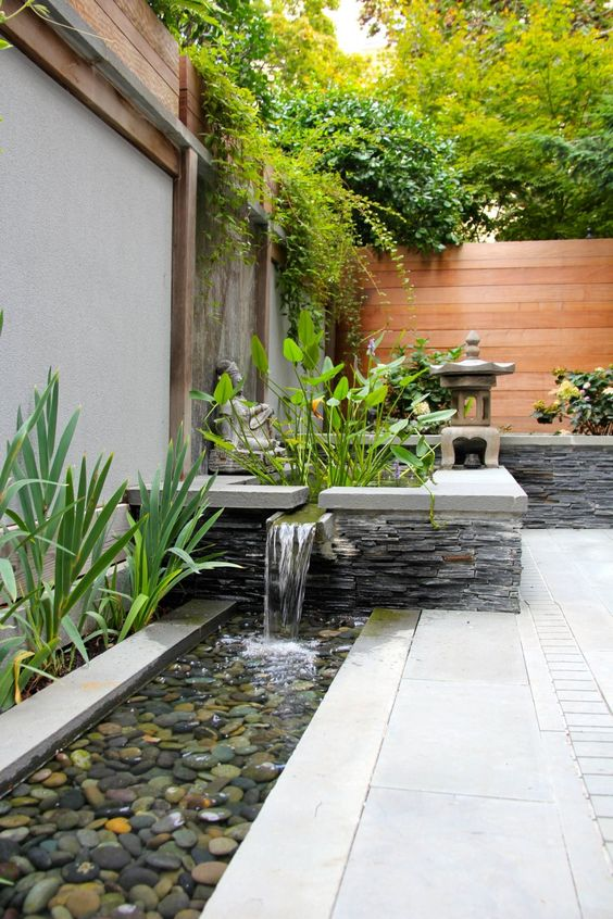 Water feature ideas for a small garden for Water feature ideas for small gardens
