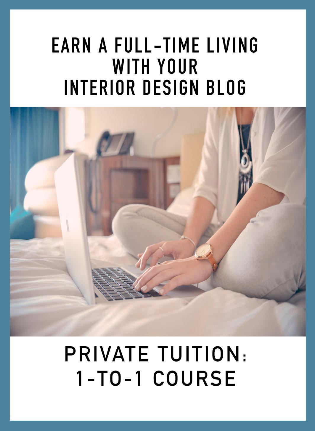 Monetize your interior design blog
